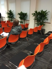 Sitting Area, Visa office Fleet Street